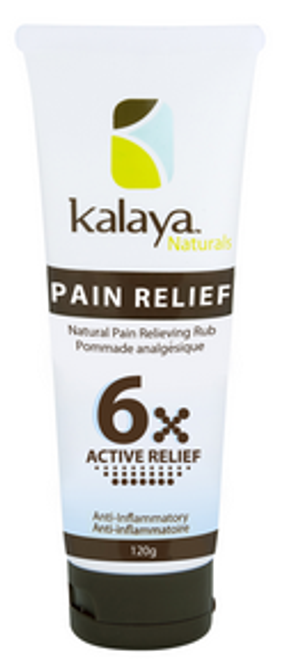 Kalaya Naturals: Pain Relief Rub 6X Extra Strength (120g)