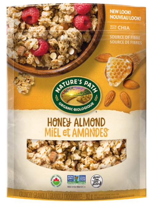Nature's Path: Pure Oats Granola - Honey Almond (312g)