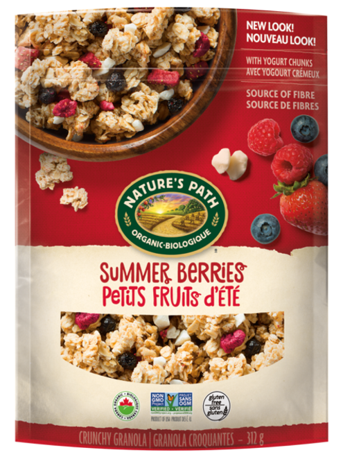 Nature's Path: Pure Oats Granola - Summer Berries (312g)