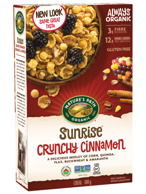 Nature's Path: Sunrise Crunchy Cinnamon Cereal (300g)