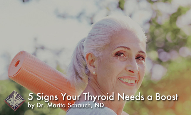 5 Signs Your Thyroid Needs a Boost