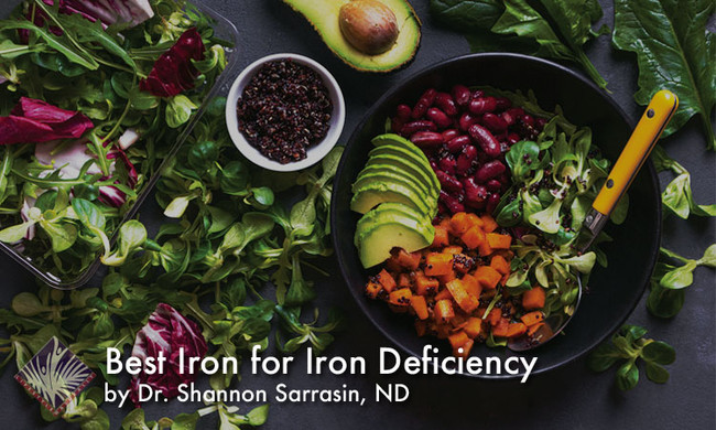 Best Iron for Iron Deficiency