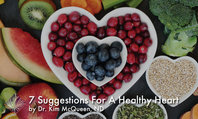 7 Suggestions for a Healthy Heart