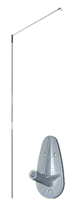 Wallmount with Pole - Spinner Mount