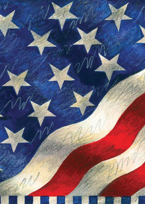 Star Spangled Banner - Garden Flag by Toland