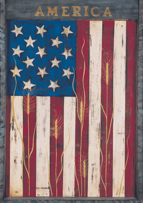 America - Standard Flag by Toland
