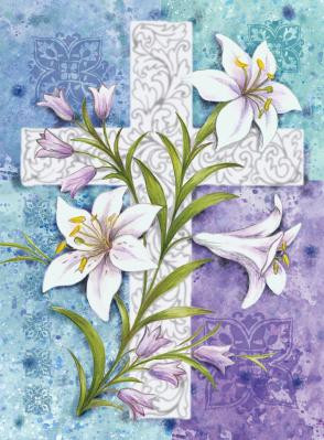 Easter Lilies Garden Flag By Toland Seriousflags Com