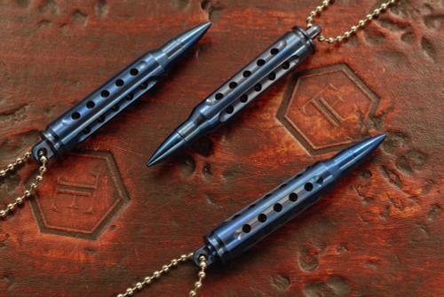SK Knives 223 Titanium Dangler Blue