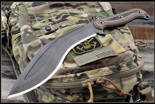 RMJ Tactical:  Kukri  w/ Kydex Sheath