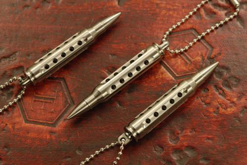 SK Knives 223 Titanium Danglers Natural