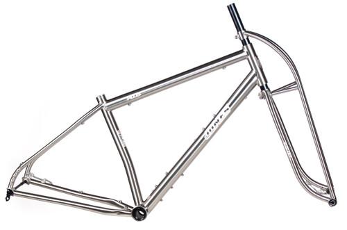 Jones Titanium Plus LWB Diamond Frame with Titanium Truss Fork ...