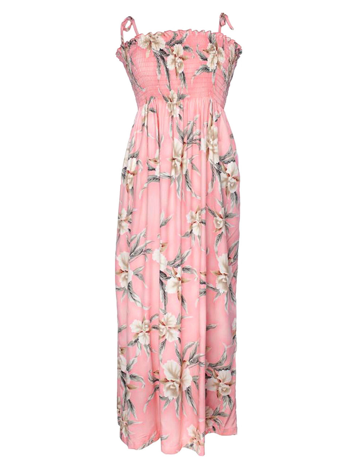 cf9545feedc Malana Long Smocked Tube Top Dress - Hawaiian Wedding Place