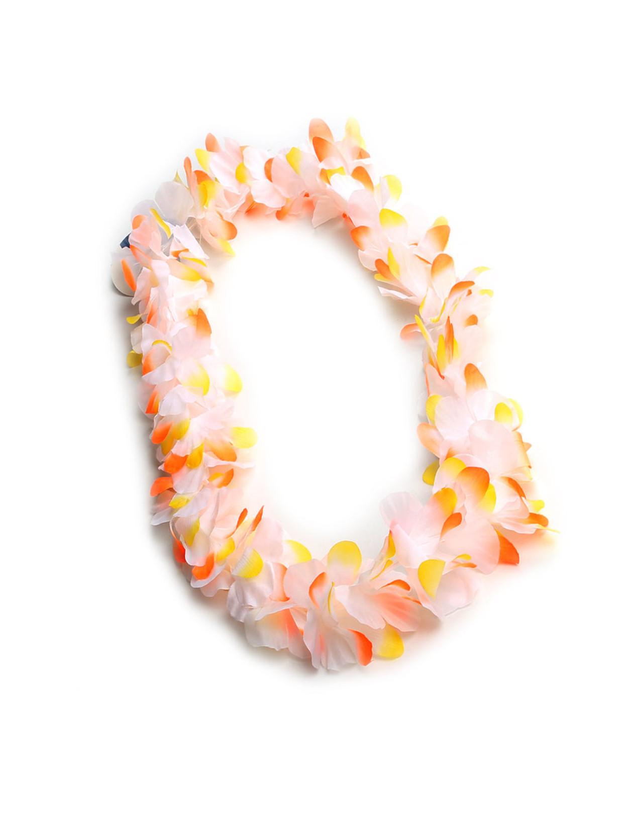 Hawaiian silk flower fun party lei white lava hawaiian wedding place hawaiian silk flower fun party lei white lava durable long lasting silk unscented mightylinksfo