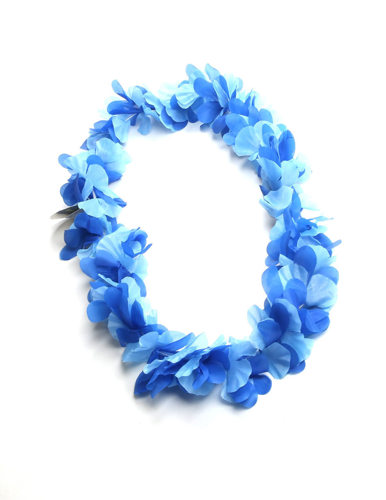 Blue hawaiian flower silk fun party lei hawaiian wedding place blue hawaiian flower silk fun party lei durable long lasting silk unscented hypoallergenic izmirmasajfo