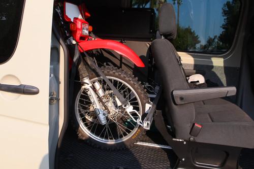 NEW - Sprinter Van Moto Rack