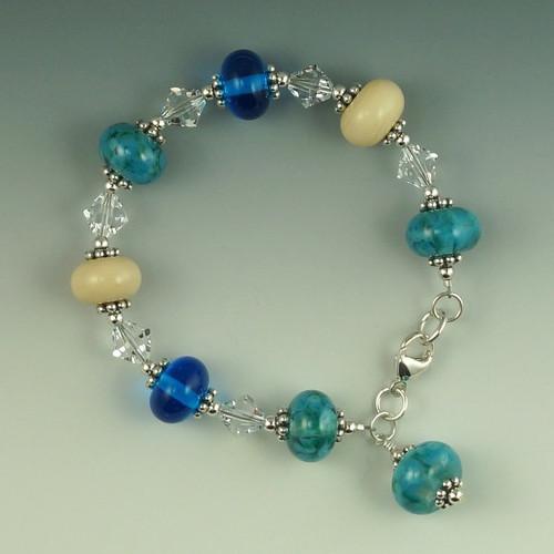 Ocean Blue Mix Bracelet