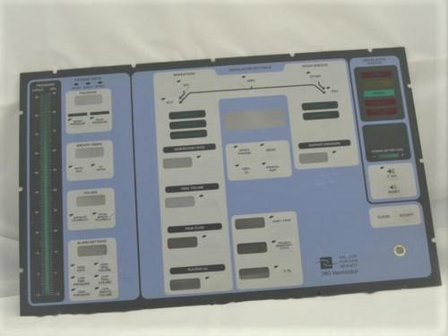 Puritan Bennett 740 Keypad Overlay for the PB 740 Ventilator.