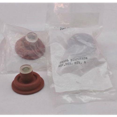 Bird 6400 Exhalation Valve Diaphragm.  Part Number 09536