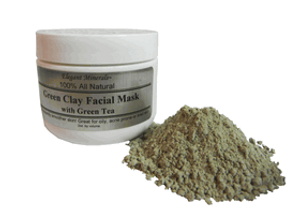 Natural Green Clay Facial Mask
