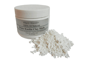 Natural White Kaolin Clay Facial Mask