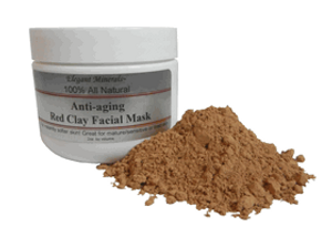 Natural Red Clay Facial Mask