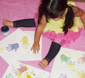 All Natural & Organic Edible Finger Paints. Gluten-free.