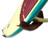 Handcrafted Wood Mermaid Tail | Surfboard Wall Display Rack