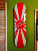 autographed skateboard deck display