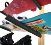 snowboard wall mount rack