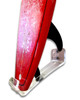Vertical Longboard Wall Mount - Clear Acrylic