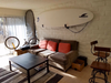 minimalist paddleboard display rack for living rooms