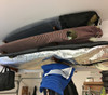 how to store surfboards in a garage