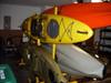 multi fishing kayak storage rack