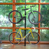 spring loaded freestanding bike rack