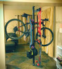 Two Bike Pressure Mount Rack | Vertical Storage Stand