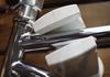 bike wall rack white