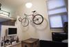 adjustable home storage bike rack