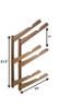 Wood Ski Rack | Home Wall Storage