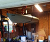 ceiling storage rack for kayaks