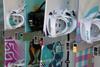 Locking Snowboard Wall Rack | 5 Boards | Ski Resort Rack
