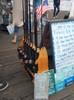 outdoor fishing rod rack