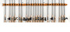 Expandable Fishing Rod Rack   Fits 8+ Rods