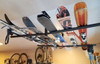ski and snowboard ceiling rack