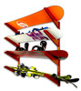 Timber Ski and Snow Wall Rack | Solid Oak | Home Storage