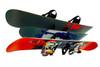 snowboard home storage rack
