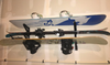 snowboard and ski rack