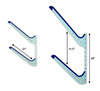 dimensions storage wall hanger sup