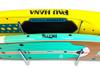 2 paddleboard holder rubber shelf