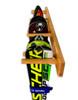 Timber Ski Wall Rack   4 Pairs of Skis   Ski Storage Display