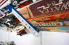 utility room ski rack